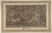 Design for a Frieze in Fontainebleau Style