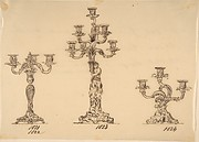 Designs for Three Candelabras