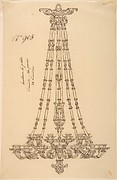 Design for a Hanging Chandelier