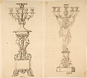 Designs for Two Candelabras