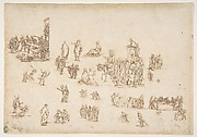 Scenes from the Life of Christ and Other Figure Studies