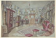 Drawing of an Interior: Atelier