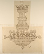 Design for a Crystal Chandelier