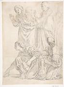 Portion of the Martyrdom of Saint Cecilia