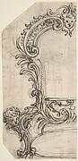 Design for the Frame of a Mirror or Fire Screen (recto); Various Sketches (verso).
