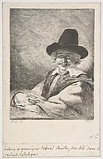 Portait of Seated Man in Hat