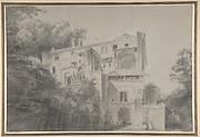 View of the Palazza Madama, Rome (?)