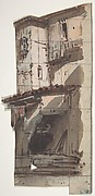 Design for a Stage Set at the Opéra, Paris