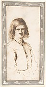 Portrait of Morose Man in Half-Length