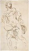 Male Figure Running