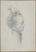 Severed head, said to be that of Maximilien-Fran&#231;ois-Marie-Isidore de Robespierre (1758-1794), guillotined July 28, 1794 (10 Thermidor, An II)