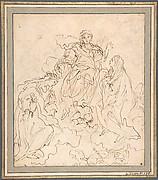 The Virgin and Saint Rosalia Interceding with Christ