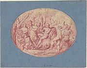 Ornamental design of Bacchanalia
