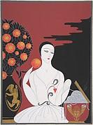 """""""Mariage d'Amour . . . Mariage de Raison"""": Cover Design for Harper's Bazar"""