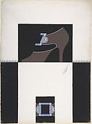 Shoe Design for Delman's Shoes, New York