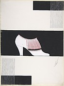 Shoe Design for Delman&amp;#39;s Shoes, New York