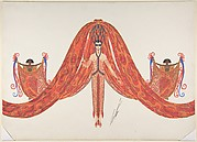 """La Mer Rouge"": Costume Design for ""Les Mers,"" George White's Scandals, New York, 1923"