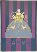 "Costume Design for ""Manon,"" Chicago Opera Company, 1922"