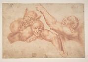 Study of Figures from Michelangelo's Last Judgment, Sistine Chapel