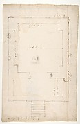 Tomb of Annia Regilla, plan (recto) Arch of the Argentarii, ornamental details, elevation (verso)