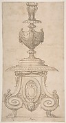 Design for Candlestick or for a Crucifix Base