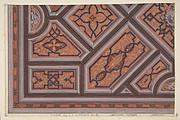 Design for the Decoration of the Ceiling in the Vestibule (Ier étage), Hôtel de S. A. le Prince de P... [Pless?}, Berlin