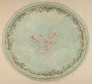 Ceiling Design for the Pless Chateau, Silesia