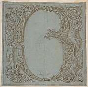 Design for an Ornamental Initial: B