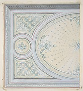 Design for the decoration of a ceiling