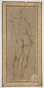 Nude Man, copy after a lost drawing