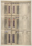 Designs for three windowed storeys