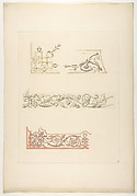 Three designs for decorative borders