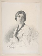 Portrait of Baroness Gudin, n&#233;e Margareth Louis Hay