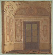 Design for the Vestibule  of the Chateau de Lude (Sarthe)