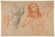 Studies for 'The Conversion of the Jailer before Saint Paul and Silas'