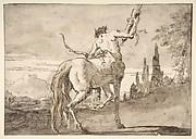 Centaur Holding Up a Quiver