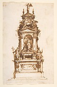 Design for an Altar Erected for the Holy Week