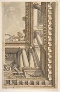 Design for a Trompe L'Oeil Ceiling with a Loggia