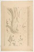 Architectural Motif:  Double Acanthus Fleuron