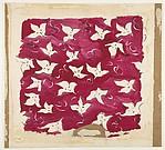 Textile Design with Floral Motif