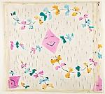 Textile Design with Kite Motif