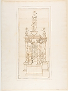 Design for a Double Heart Monument