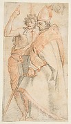 Saint John the Baptist and Saint Giovanni Gualberti, copy after Andrea del Sarto