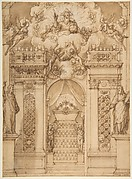 "Design for a ""Quarantore"" Decoration"