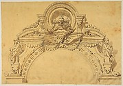 Design for an elaborate arch