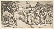 Joseph's Cup Discovered in Benjamin's Sack of Grain