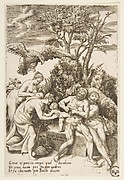 Birth of Bacchus, from the Loves of the Gods