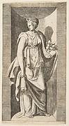Diana holding Fruit