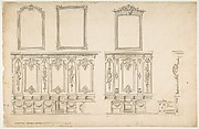 Design for Choir Stalls