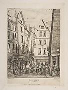 Rue Pirouette aux Halles (Rue Pirouette aux Halles, Paris, after Laurence)